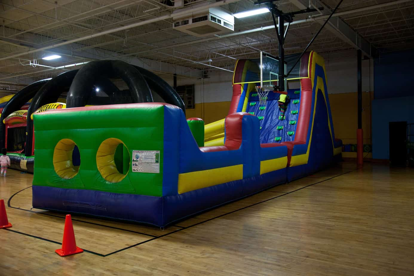 Inflatables at Metro Fun Center