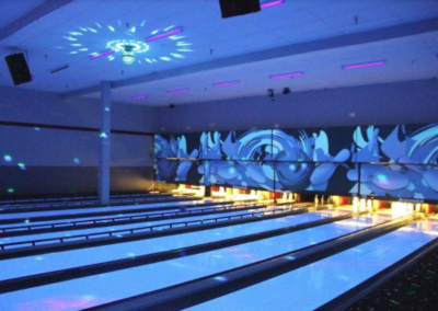 cosmic bowling lights