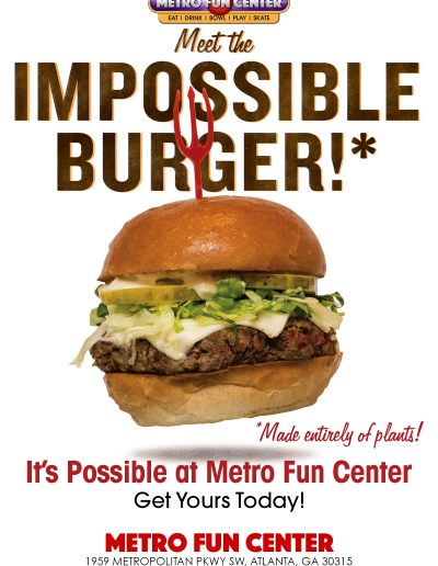 Impossible BurgerM