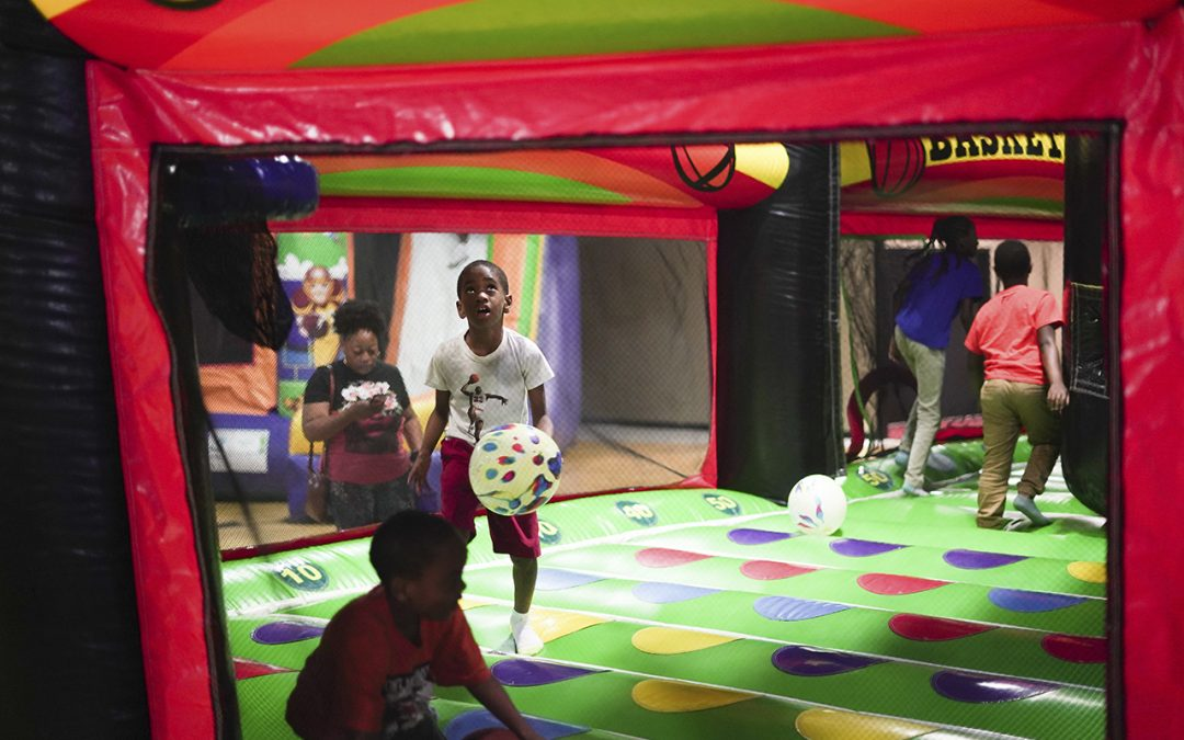 Visit One of the Best Bounce Houses in Atlanta
